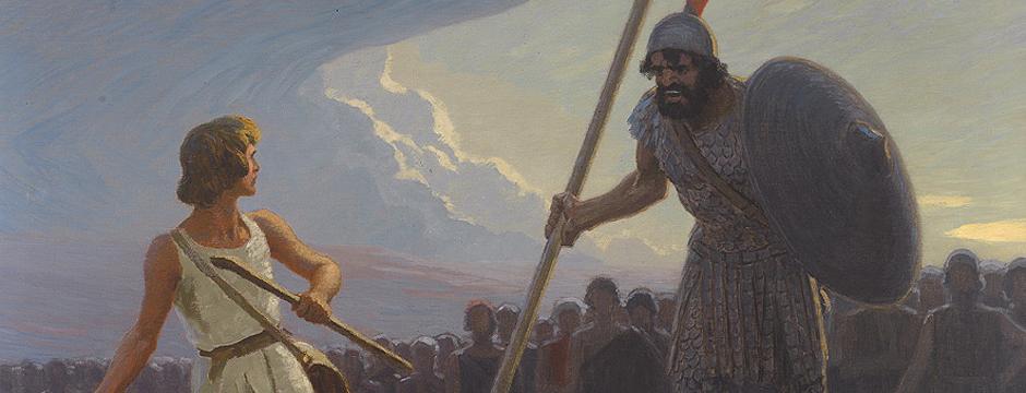 David mot Goliat!